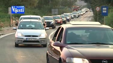 Saobraćajne gužve, Tivat