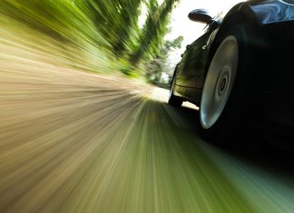 brza vožnja, auto