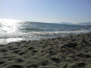 Ada Bojana, Velika plaža