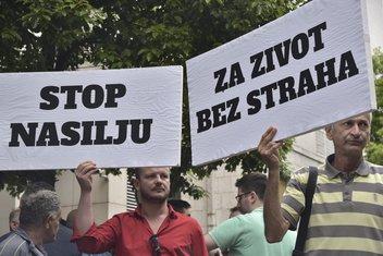 Protest novinara, Olivera Lakić