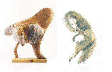 Mijo Mijušković skulpture