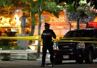 Toronto pucnjava, Toronto napad