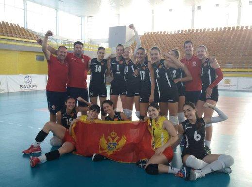 Ženska kadetska odbojkaška reprezentacija, prvak Balkana 2018