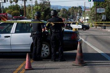 Los Anđeles, policija