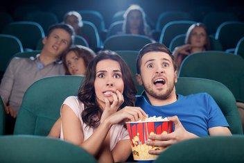 bioskop, horor film