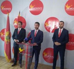 Demokratska Crna Gora, pres