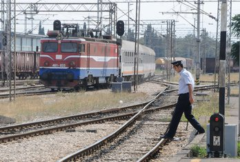željeznica, pruga, ŽPCG