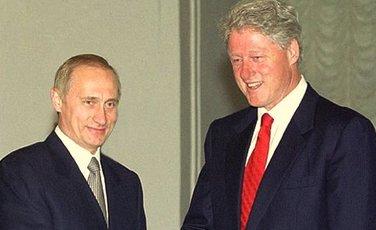Vladimir Putin, Bil Klinton