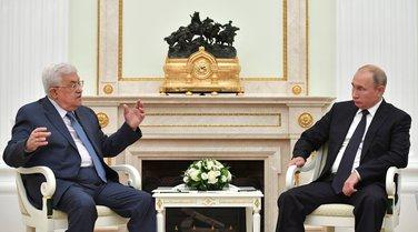 Mahmud Abas, Vladimir Putin