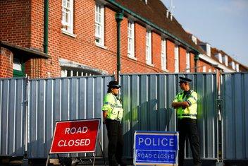 Velika Britanija, policija