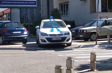 policija nepropisno parkiranje