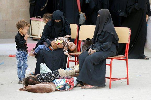 Žene i djeca, Jemen