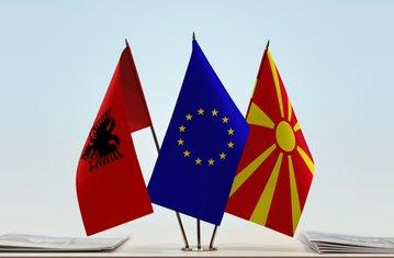 Albanija, EU, Makedonija