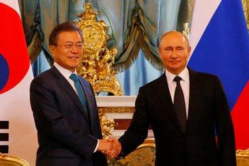 Vladimir Putin, Mun Džae In