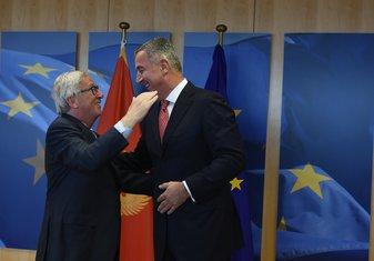 Milo Đukanović, Žan Klod Junker
