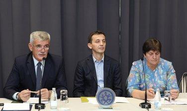 Zoran Radojičić, Predrag Bošković, Zorica Kovačević, Skupština RSCG
