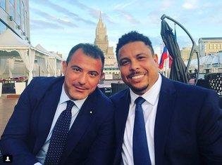 Dejan Stanković i Ronaldo
