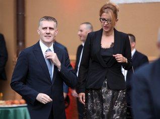 Igor Lukšić, Suzana Pribilović