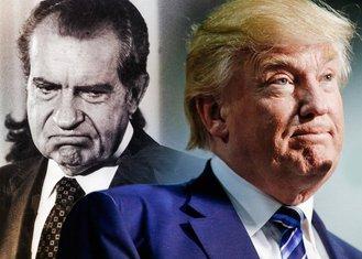 Ričard Nikson, Donald Tramp