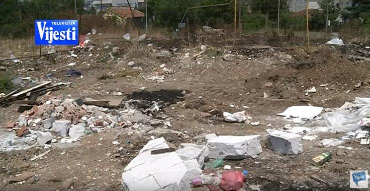 Nelegalna deponija, Podgorica