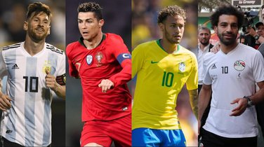 Mesi, Ronaldo, Nejmar, Salah