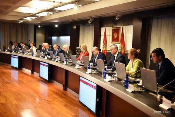 sjednica Vlade, Vlada Crna Gora