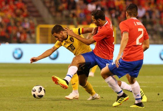 Eden Azar Fudbalska reprezentacija Belgije