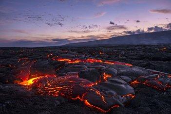 vulkan, lava