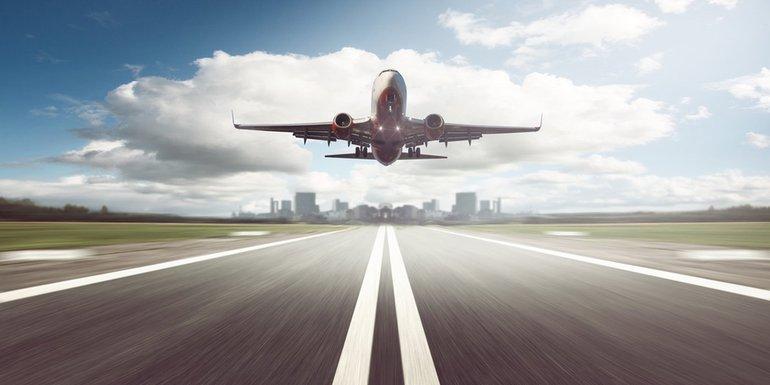avion, pista, avionska pista, aerodrom