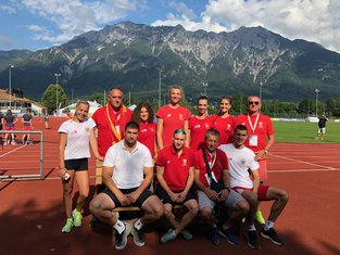 Atletičari Crne Gore, Igre malih zemalja Lihtenštajn