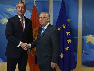 Milo Đukanović, Žan-Klod Junker