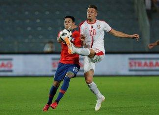 Srbija - Čile Sergej Milinković-Savić