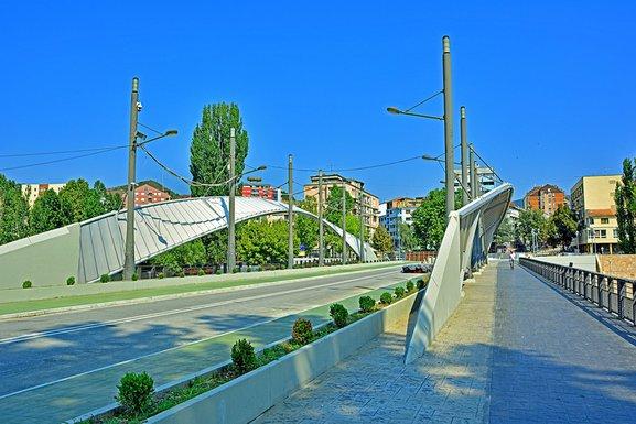 Kosovska Mitrovica, most