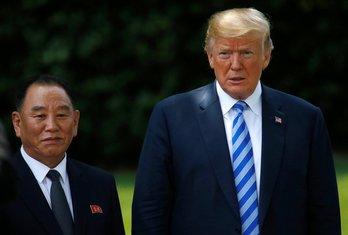 Kim Jong Čol, Donald Tramp