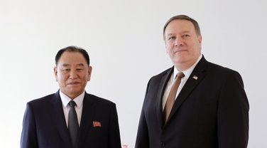 Kim Jong Čol, Majk Pompeo