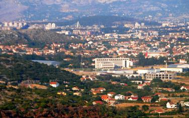 Panorama Podgorice