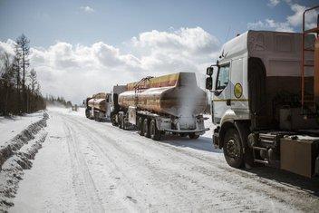 Ledeni putevi, Rusija (Novine)