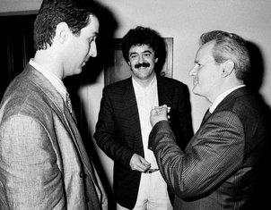 Milo Đukanović, Momir Bulatović, Slobodan Milošević