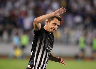 Saša Ilić FK Partizan