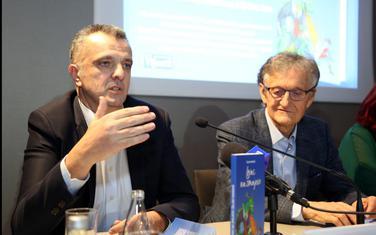 Željko Ivanović i  Miodrag Perović