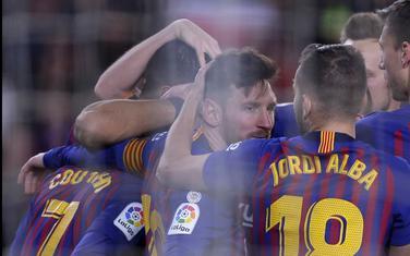 Fudbaleri Barselone slave gol protiv Sevilje