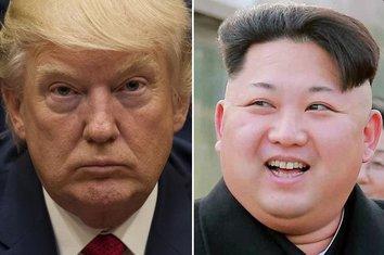 Donald Tramp Kim Džong UN