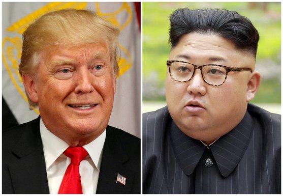 Donald Tramp, Kim Džong Un