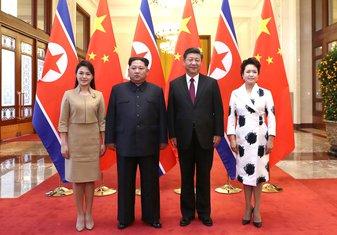 Ri Sol Džu, Kim Džong Un