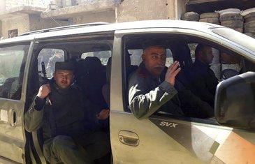 Istočna Guta, sirijska policija