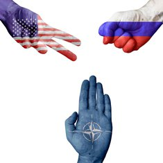 SAD, Rusija, NATO