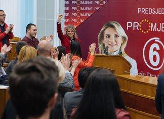 Draginja Vuksanović, SDP Cetinje