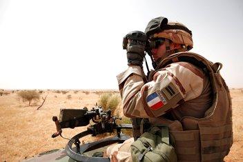 Francuski vojnik, Mali