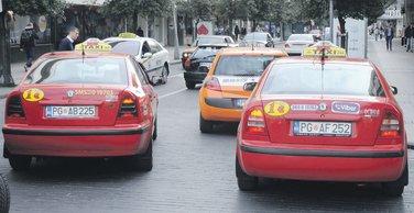 Taksi, Podgorica