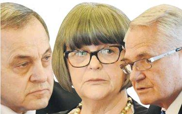 Rifat Hadrović, Ranka Čarapić, Milan Radović